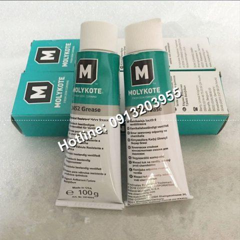 Mỡ bôi trơn chống ăn mòn hóa chất Molykote 3452