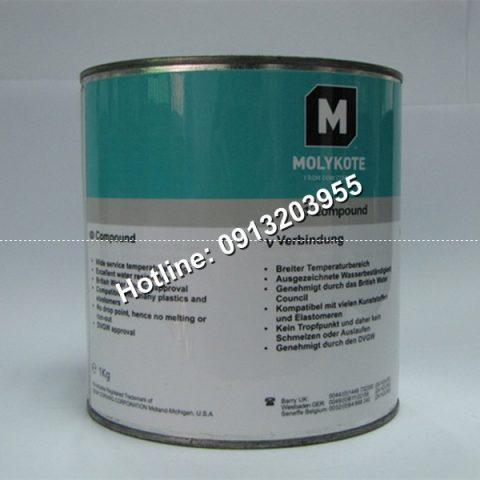 Hợp chất bôi trơn silicone Molykote 111 – Hộp 1kg