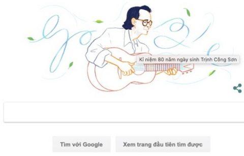 Nghệ sĩ Việt đầu tiên được vinh danh trên Google Search-Nhạc sĩ Trịnh Công Sơn