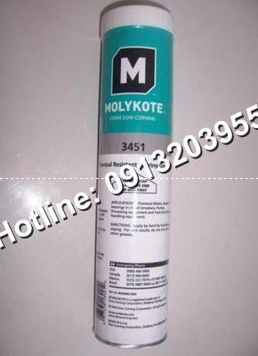 Mỡ chịu tải, hóa chất Molykote 3451-Hộp 1kg