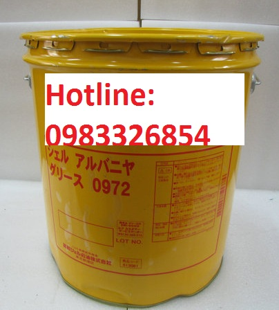 Mỡ Hàn Quốc Shell Alvania 0769.
