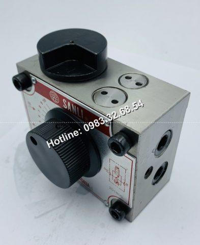 Van tiết lưu điều chỉnh lưu lượng dầu SANLI MFS-02